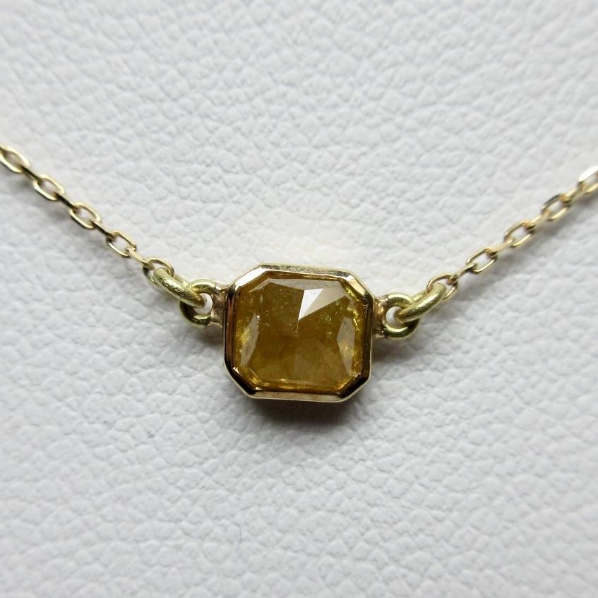 ナチュラルダイヤモンドネックレス